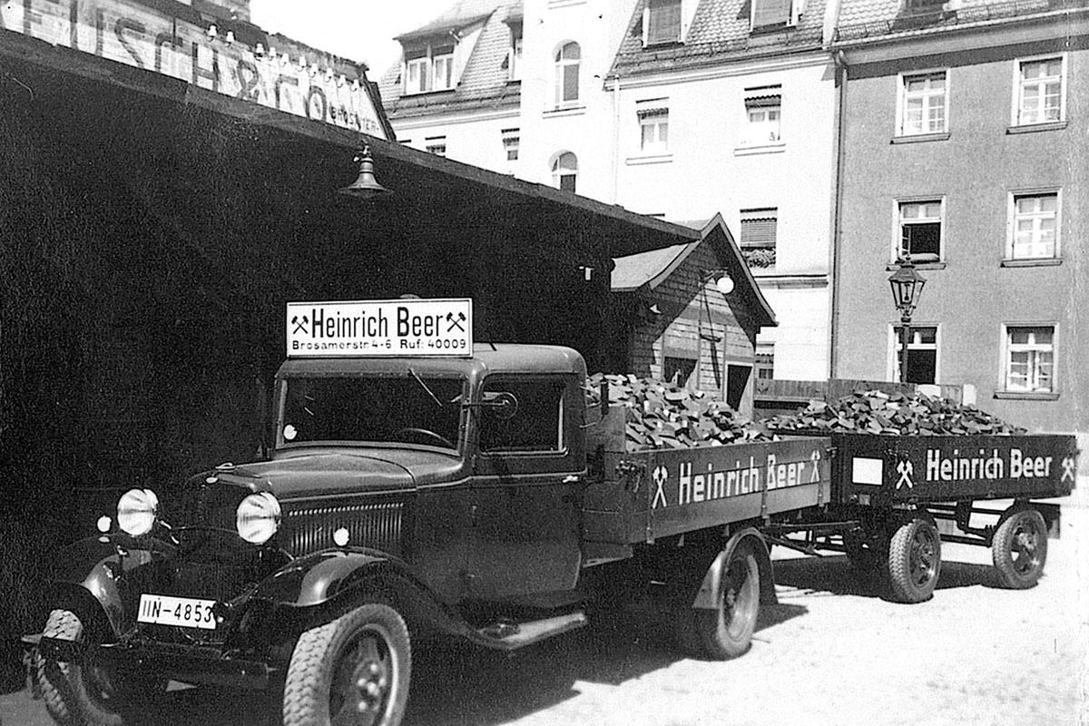 Beer Energien Hängerzug 1935