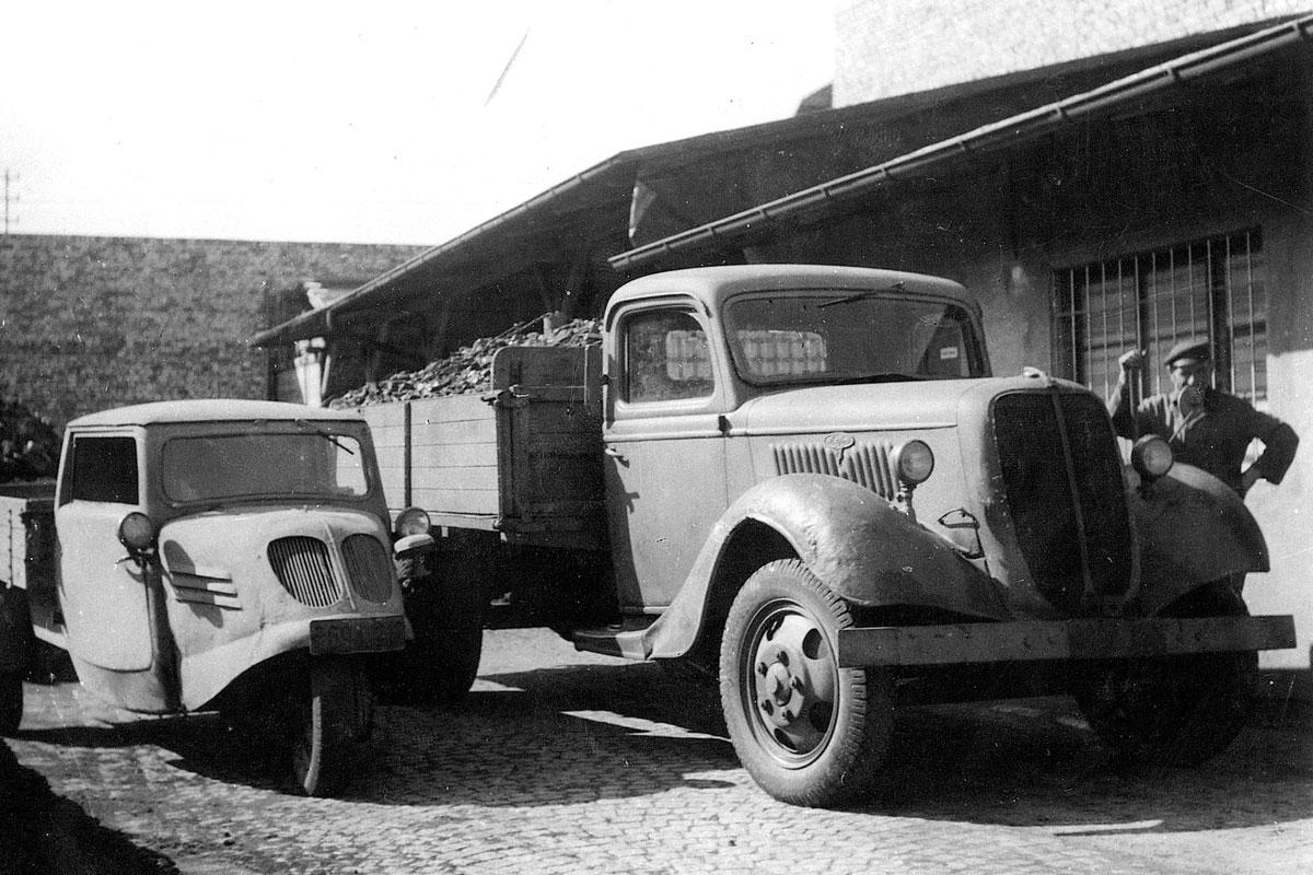 Beer Energien Fuhrpark nach Kriegsende