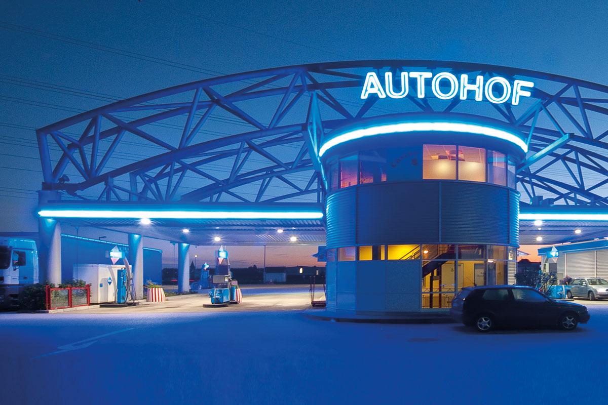 Beer Energien Aral Autohof an der B2