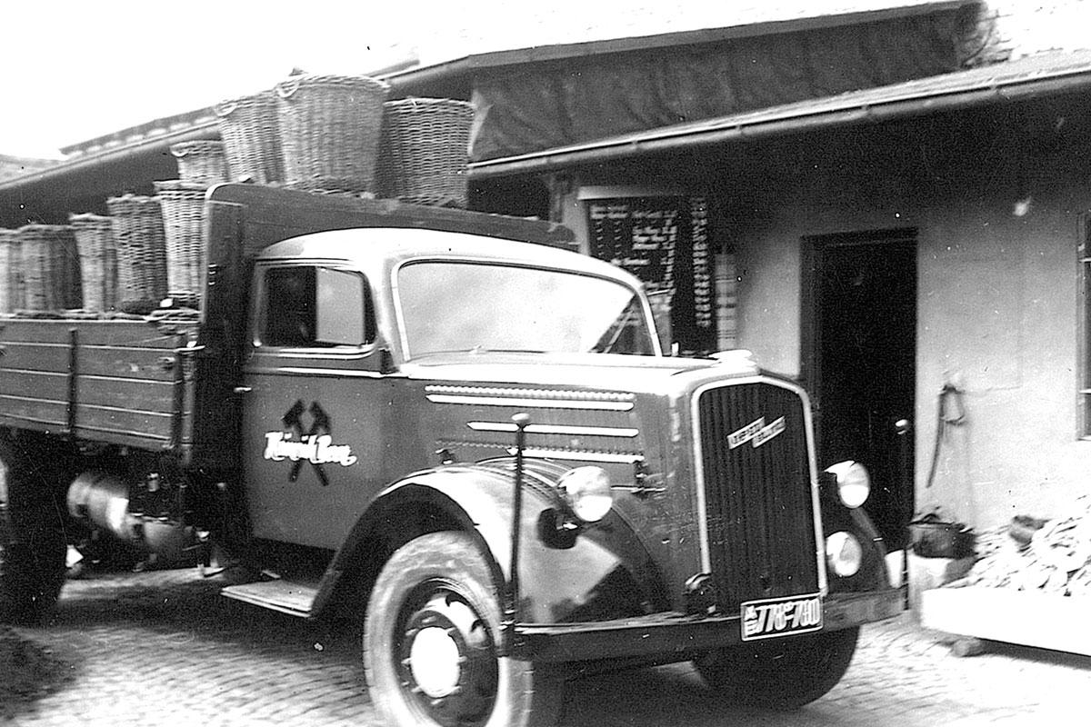 Beer Energien Transporter 1953