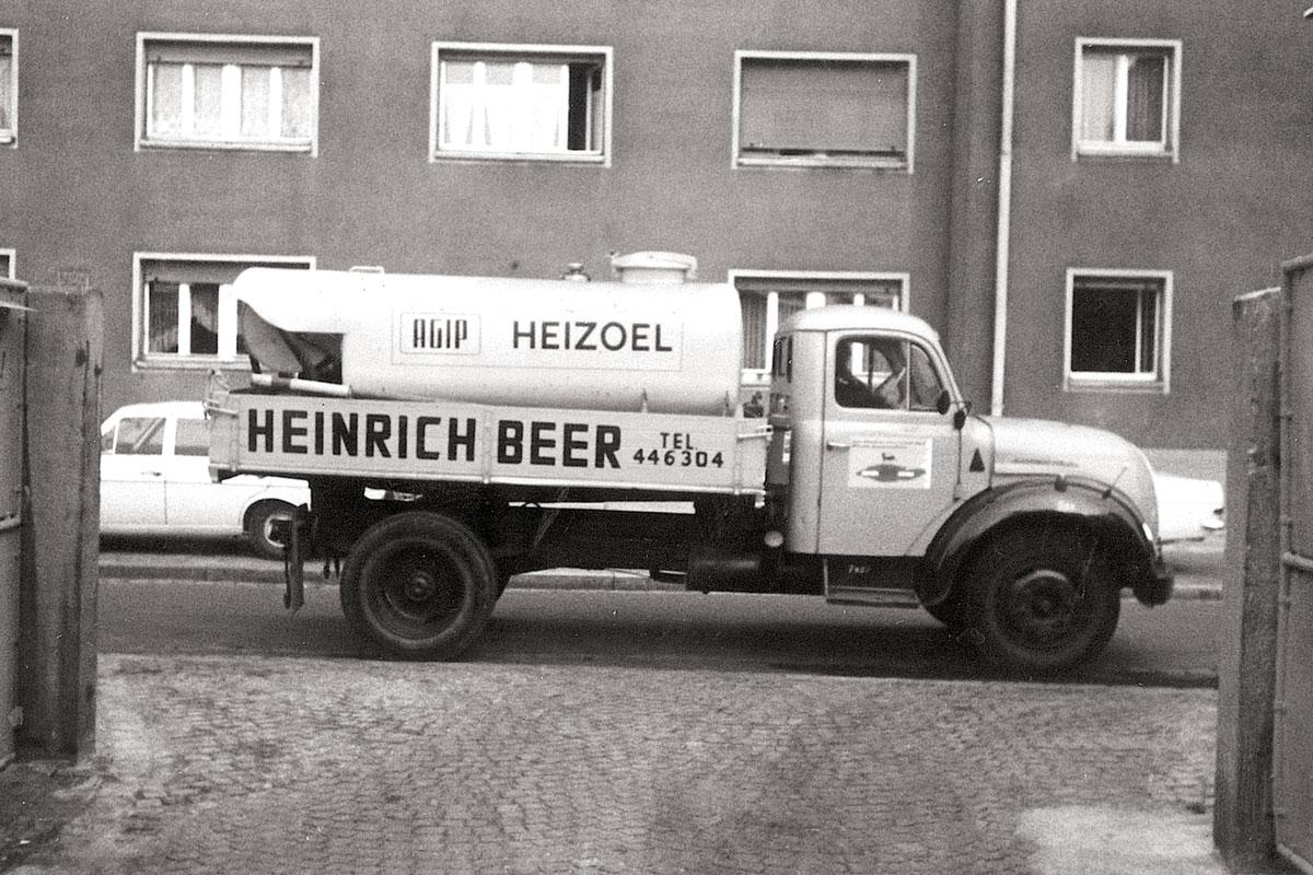 Beer Energien erster Tankwagen 1966