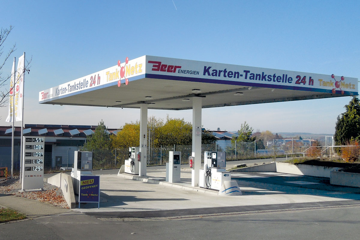 Beer Energien Freie Tankstelle Werner-von-Siemens-Strasse 9 Neustadt an der Aisch